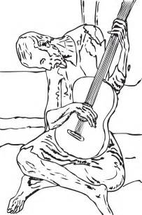 picasso coloring pages free coloring pages of pablo picasso