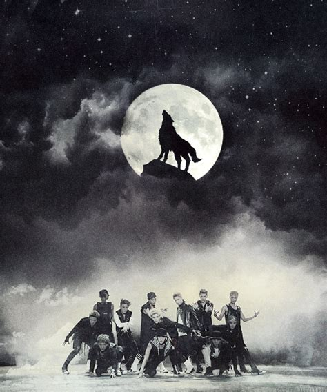 wallpaper exo wolf wolf by exo review idiotic perceptions