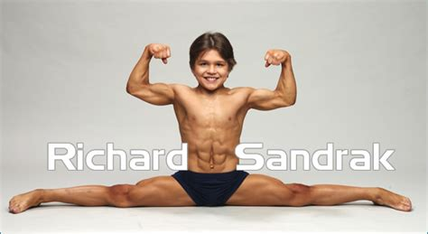 richard sandrak bench press worlds strongest kid