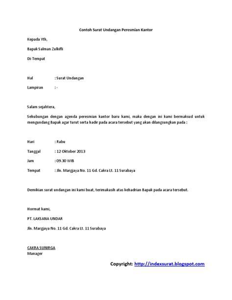 surat undangan peresmian gedung pdf