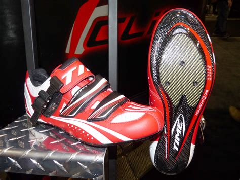 time bike shoes interbike 2009 time road mountain and commuter bicycle