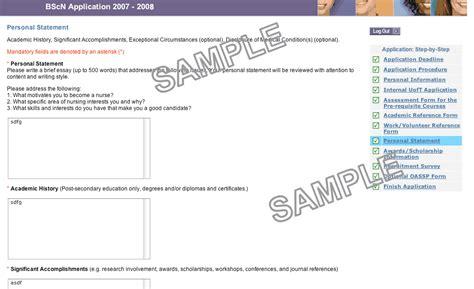 Avergage Scholarship Toronto Mba by Scholarship Personal Statement Sles R 233 Sum 233 Templates