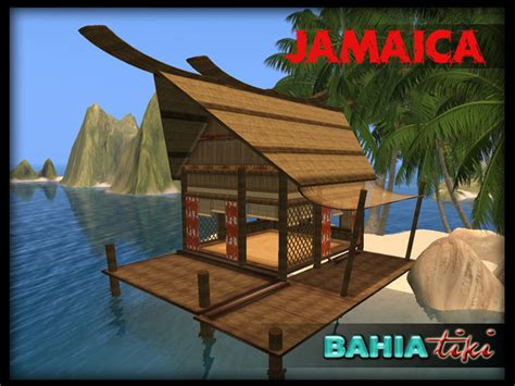 Tiki Hut Jamaica Second Marketplace Tiki Tropical Prefab
