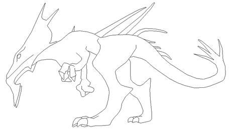 welsh dragon outline welsh dragon templates dog breeds