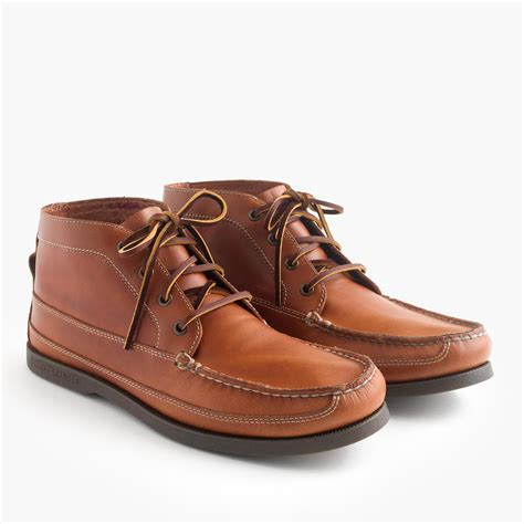 sperry boots mens sperry top sider s sperry leather chukka boots in