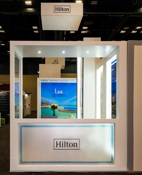 Hiltons Stand In by Stand At Tourism Indaba 2017 By Whaam Concepts