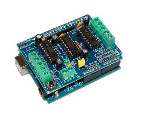 arduino motor shield dk electronics user manual of motor shield with l293d chipset