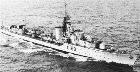 Hms Ulysses hms ulysses r69 u class destroyer of the royal