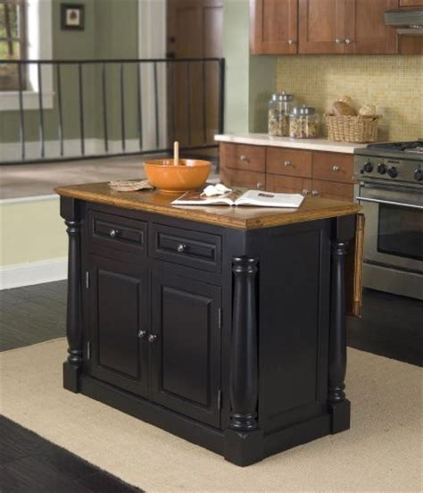 distressed island kitchen cheap home styles 5008 94 monarch kitchen island black