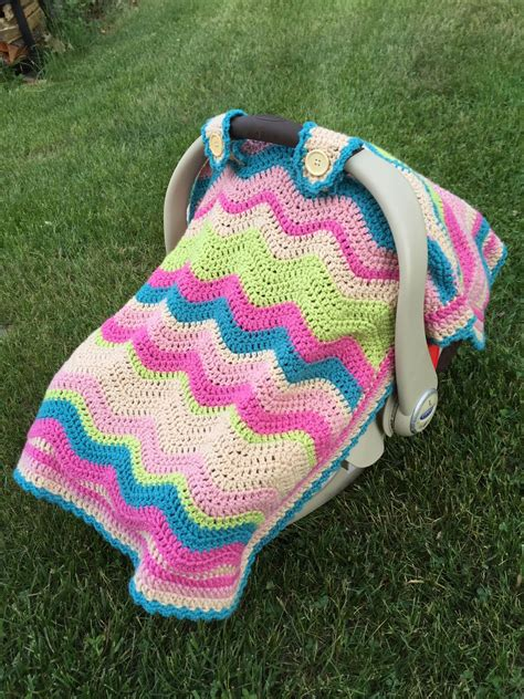 seat pattern skein and hook free crochet pattern emerson car seat
