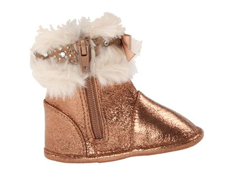 michael kors children s boots michael michael kors baby oliva boot infant toddler