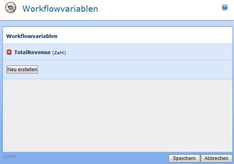nintex workflow 2007 sollten bereits workflowvariablen konfiguriert sein