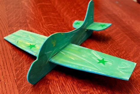 airplane craft for craft an airplane from green kid crafts on as we