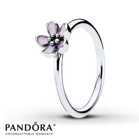 Pandora Enamel Charms 4petal Flower P 564 pandora rings pandora and enamels on