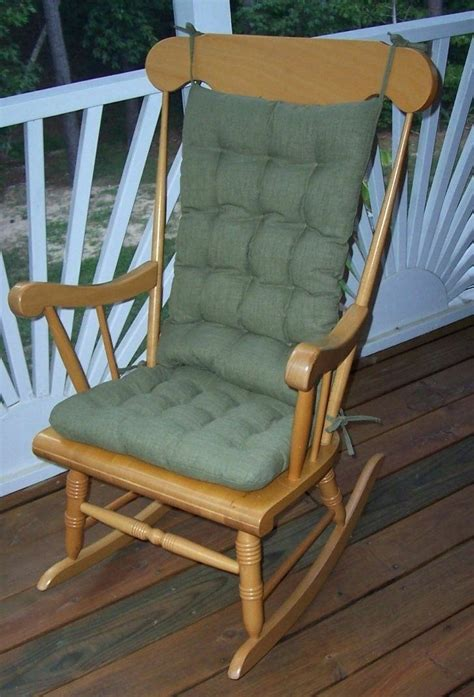 Cushioned Rocking Chair by Rocking Chair Pads Outdoor Garden Outdoor Rocking Chair