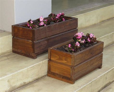small wood planter box beautiful wood planter boxes and flowers indoor outdoor decor