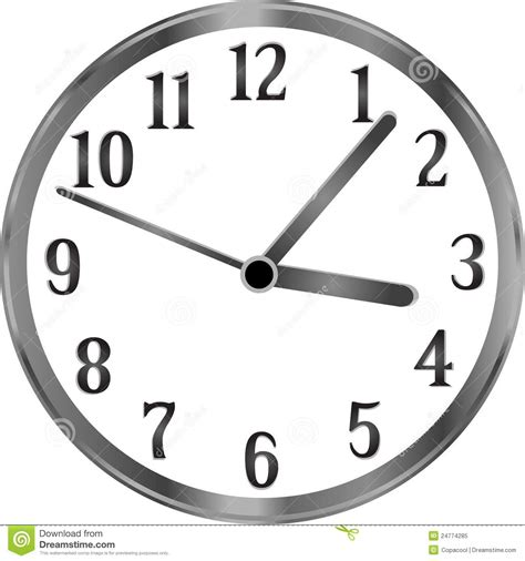 simple clock silver clock time year passing simple concept royalty
