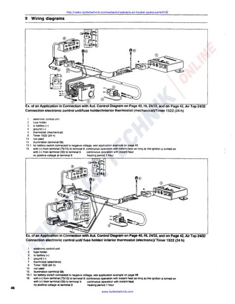 webasto t91 wiring diagram k grayengineeringeducation
