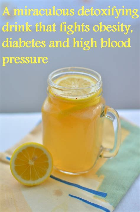 Detoxing Diabetes by A Miraculous Detoxifying Drink That Fights Obesity
