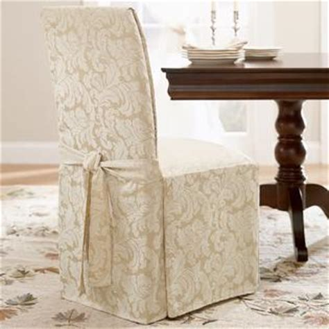 sure fit scroll dining room sure fit scroll chagne dining room chair slipcover home home decor pillows throws