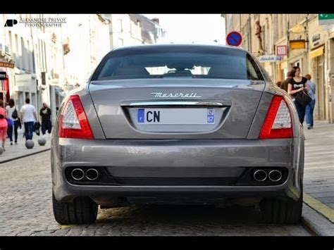 Maserati Quattroporte Exhaust by Ultimate Maserati Quattroporte Exhaust Sound