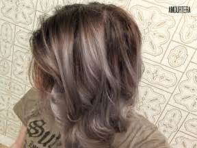 how to blend grey hair with highlights amourtera gt how to get silver gray hair at home beauty