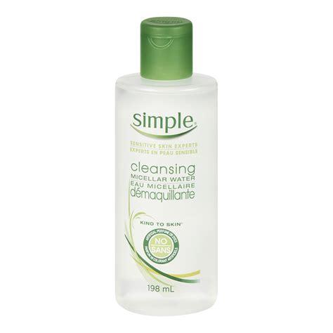 Simple Detox Cleanse by Simple Micellar Cleansing Water Reviews In