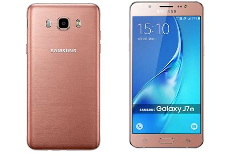 Tulang Samsung J7 2016 Gold samsung galaxy j7 2016 fiche technique et