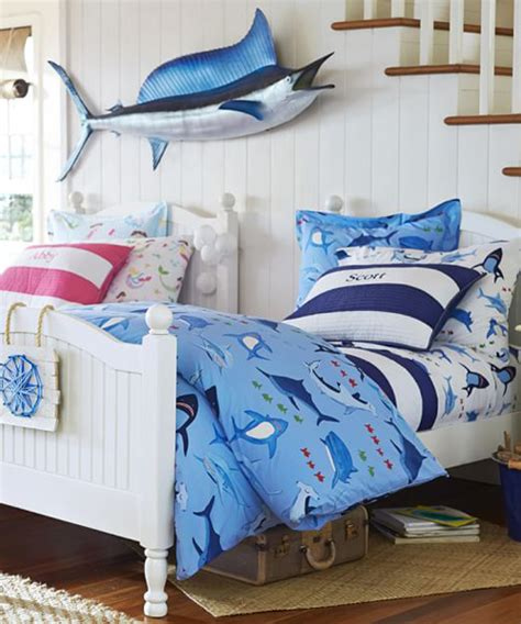 Shark Crib Bedding Boys Shark Bedding Shark Bite Collection