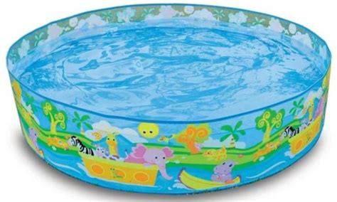 aquatic bathtub intex snapset 4 feet kids water pool bath tub swimming