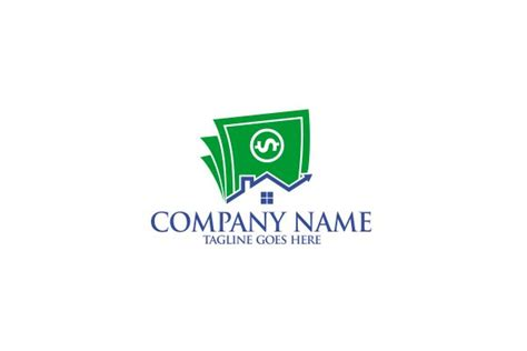 design logo and earn money home money logo
