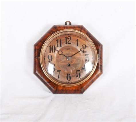 art deco wall clock roselawnlutheran art deco wall clock attributed to junghans for sale at 1stdibs