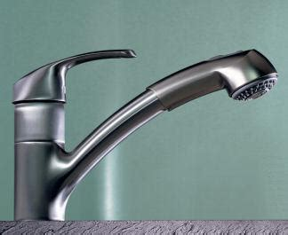 grohe alira kitchen faucet grohe alira faucet the solid stainless steel model is here
