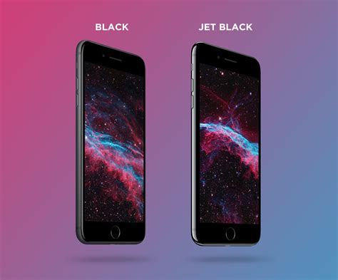 4k black and jet black iphone 7 plus psd mockup by mockup depot