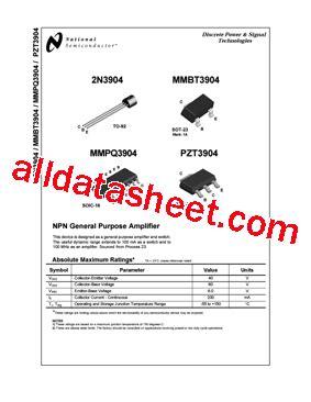 datasheet of transistor 2n3904 free program 2n3904 datasheet pdf inaboxmediaget