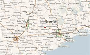 map of brenham gu 237 a urbano de brenham