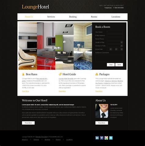 free hotel website template templatemonster free website template accordion effect