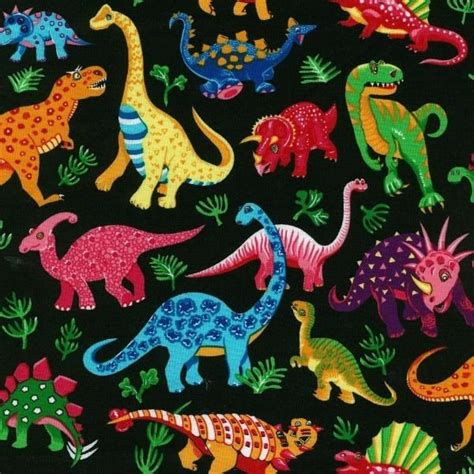 dinosaur quarters general fabrics bright and breezy