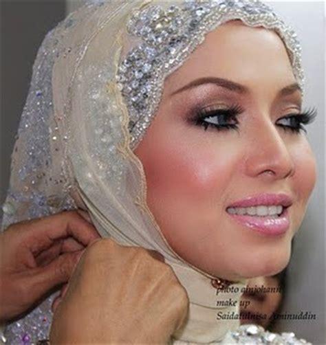 Makeup Saidatulnisa tudung nikah koleksi tudung nikah