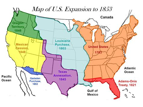 map of oregon territory 1846 western expansion fulfillment of manifest destiny ppt