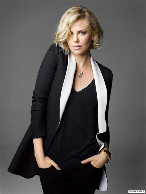 Charlize Theron Got Rid Of The Black Do by Best 25 Hair Ideas On