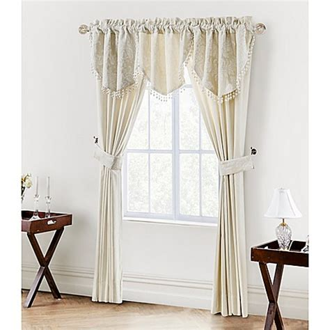 waterford curtains waterford 174 linens paloma 84 inch window curtain panel pair