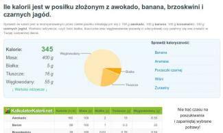 kalkulator kalori kalkulator kalorii sprawdź kaloryczność i wartości