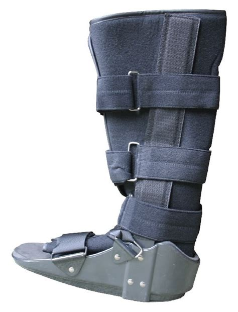 fracture boot fixed ankle rigid walker boot ebay