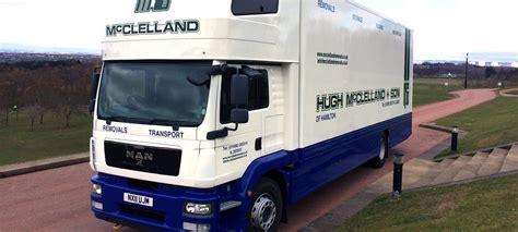 removals storage lanarkshire hugh mcclelland