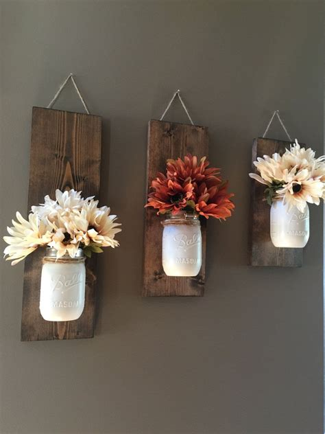 flower decorations for home 25 rustic home decor ideas you can build yourself