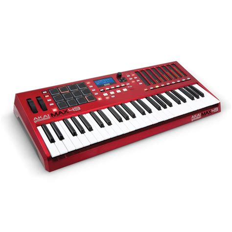Keyboard Controller akai max49 usb midi cv keyboard controller