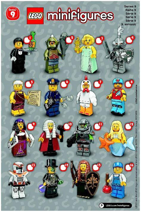 Lego The Original Minifigures Series lego lego minifigures series 9 71000 mini figures