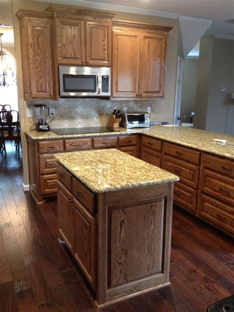 complete kitchen remodel new granite tile wood floors and