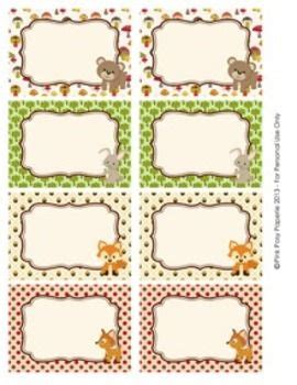 printable zoo animal name tags classroom the label and chang e 3 on pinterest